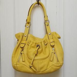 B. Makowsky Leather Bag